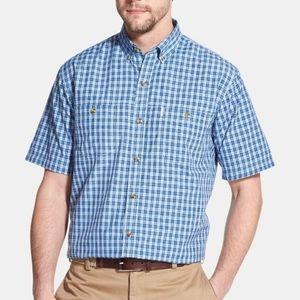 G.H. Bass & Co. Men's Plaid Button-Up Shirt